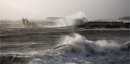 A storm at Blackrock Salthill